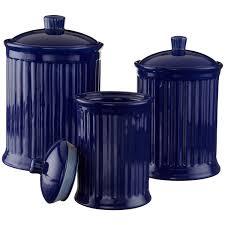 cobalt blue kitchen canisters cobalt blue kitchen a cobalt blue canister set with from navy