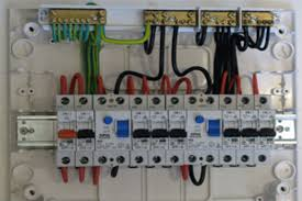 wiring of the distribution board with rcd single phase from within