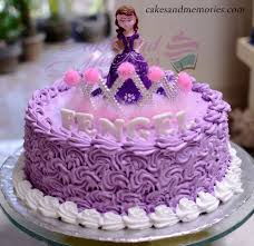 sofia cakes sofia the cake with crown and figuine cakes and memories
