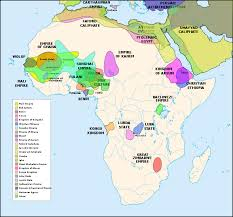 africa map before colonization africa borders