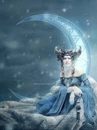 the moon goddess edited by dferous on deviantart