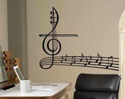 Music Note Home Decor Musical Notes Tree Removable Vinyl Wall Art Music Notes Music
