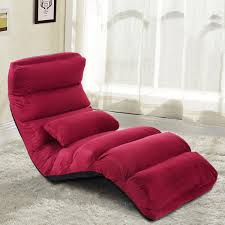 Burgundy Living Room Furniture by Amazon Com Giantex Folding Lazy Sofa Chair Stylish Sofa Couch