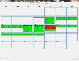 performance trying to make an efficient calendar in microsoft