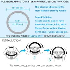 nissan sentra hubcaps 15 inch aliexpress com buy personalized wings skull leather car steering