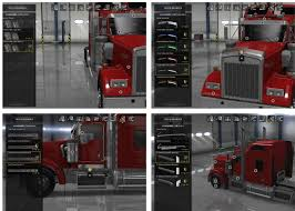 kenworth parts and accessories kenworth w900 accessories pack v1 2 mod american truck simulator