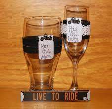halloween wedding toasting glasses biker wedding decorations images wedding decoration ideas