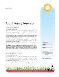 ideas for a welcome pack for a family reunion family reunions