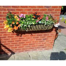 garden planters black country metal works