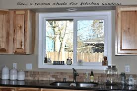 nifty kitchen window treatment idea also love the double endear