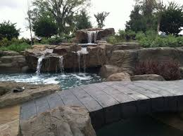 Waterfall In Backyard Waterfall U0026 Water Feature Design Build U0026 Installation Oasis