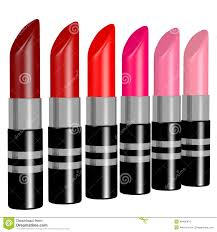 Shaeds Of Red by 3d Render Of Shades Of Red Lipstick Stock Illustration Image
