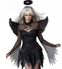 Saints Halloween Costumes Aliexpress Buy Halloween Costume Witch Cosplay Wings