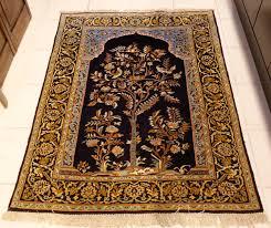 Kashan Persian Rugs by Persian Pictorial Kashan Tree Of Life Rug Collectors Item