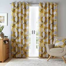 pictures of curtains elements emmott ochre eyelet curtains dunelm