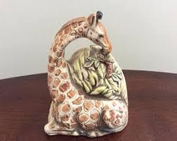 porcelain giraffe ring holder images Giraffe figurine etsy jpg