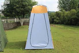 Camping Tent Awning Lightweight Portable Camping Shower Tent Awning Canvas Folding