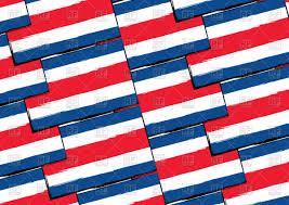 Flag Costa Rica Costa Rica Flag Seamless Pattern Royalty Free Vector Clip Art