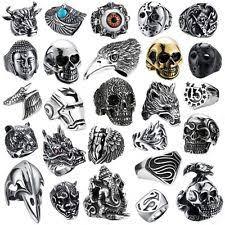 stainless steel rings for men black rings for men ebay