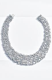 flower tiffany necklace images Tiffany paper flowers wide diamond bib in platinum tiffany jpg