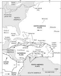 Caribbean Ocean Map by Map Of The Caribbean Basin Western Atlantic Ocean Adjacent