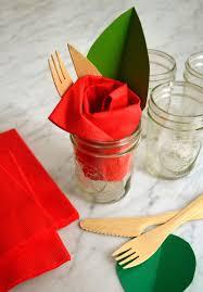 Pliage Serviette Noeud Pliages De Serviettes Faciles Pour Une Table De Fête Inoubliable