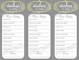 wishes for baby free printable wishes for baby baby shower