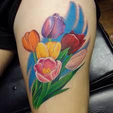 mytattooland com tulip tattoo designs