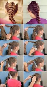 cute hairstyles pull through braid 20 back to school braids for your cute little girl babesinhairland