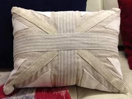 Blue Union Jack Cushion Textiles Mary Propins
