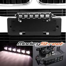 work light mounting bracket bumper license plate mounting bracket 30w hi power cree led offroad