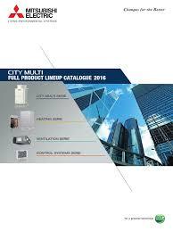 2016 city multi e 1509205 pdf heat pump hvac
