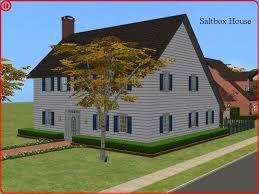 mod the sims saltbox house