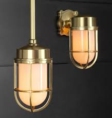 Industrial Guard Sconce by Tolson Pendant Wall Sconces Basement Lighting And Basements
