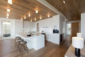 plafond de cuisine design cuisine design blanche en 50 idées élégantes