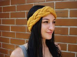 knit headband bulky braided knit headband pattern knitting