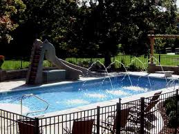 Water Slides Backyard by Pool Slides Swimming Pool Slides Water Slides