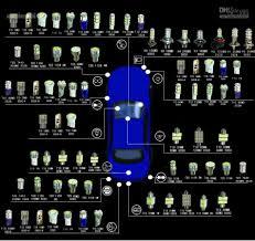 car dome light bulbs best 41mm 8 blue led car interior dome festoon reading light l