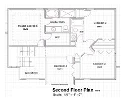 Floor Plans For A Two Story House by Traditional Floor Plan For Two Story House Tallplans 22 On Plan