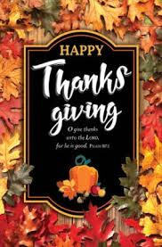 happy thanksgiving psalm 107 1 kjv bulletins 100