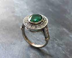 antique rings images Emerald ring antique ring vintage ring antique emerald etsy jpg