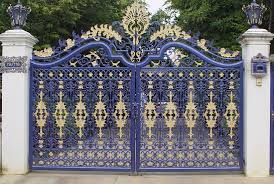 Beautiful House Front Gate