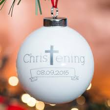 Baptism Christmas Ornament Christening Gifts Under 10 Gettingpersonal Co Uk