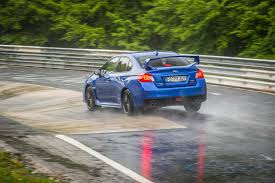 2017 rally subaru nürburgring monsoon subaru wrx sti record attempt on the