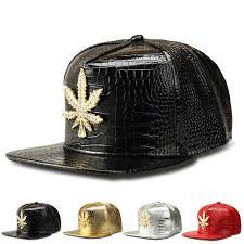 aliexpress buy nyuk new fashion american style gold nyuk new fashion pu mens hip hop baseball caps casual unisex