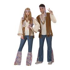 Halloween Party Costume Ideas Men Totally Ghoul Men U0027s Hippie Halloween Costume Shop Your Way