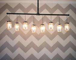 diy mason jar light with iron pipe diy pipe chandelier willazosienka com