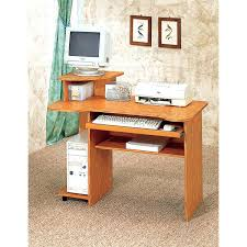 Large Corner Computer Desk Wood Small Computer Desk For Home Office Compact Corner Computer