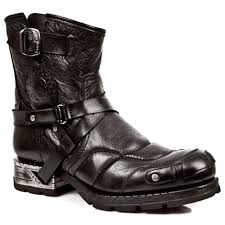 cool biker boots new rock boots handmade gothic footwear leather new rock boots uk