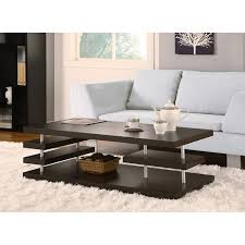 amazon com furniture of america aven cappuccino coffee table